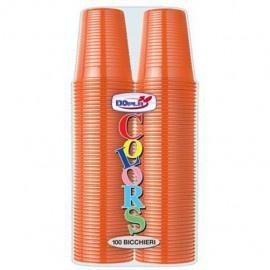 Plastic Bekers Oranje