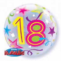 18th Brillant Star Bubble Ballon