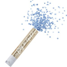 Gemder Reveal Confetti  Cannon Blue
