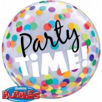 Party Time Bubble Ballon