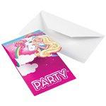 Barbie Dreamtopia Uitnodigingskaarten
