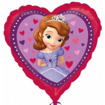 Princess Sofia Hearts  Folie Ballon