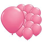 5 inch (12cm) ballonnen fuchsia