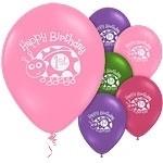 Ladybug 1st Birthday Ballonnen