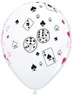 Ballon card & dice