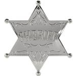 Western Party Sheriff Badge