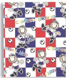 "Cadeaupapier ""Champion Birthday"