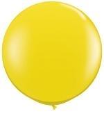 3ft (90cm) ballon geel