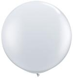 3ft (90cm) ballon wit