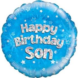 Happy Birthday Son Foil