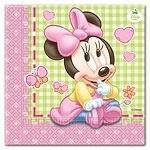Minnie Mouse 1st Birthday Servetten