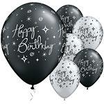 Ballonnen birthday elegant sparkle