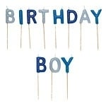 Birthday Boy Kaarsjes