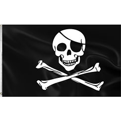 Red Pirates Gevelvlag