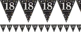 Vlaggenlijn 18th Gold Sparkling Celebration