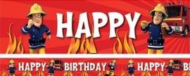 Brandweerman Sam Banner