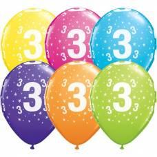 Helium ballon leeftijd 3 jaar