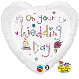 On Your Wedding Day Foil