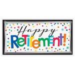 Giant Banner Happy Retirement