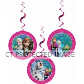 Frozen Dangeling Cutouts