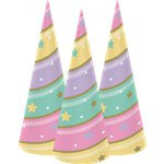 Unicorn Sparkle Hoedjes
