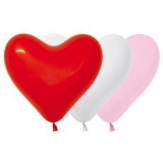 Harten ballonnen love assorment