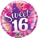 Star Hot Pink Sweet 16 Foil