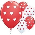 Ballon Big Hearts Rood