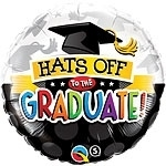 Hats off to the Graduate  Folie Ballon