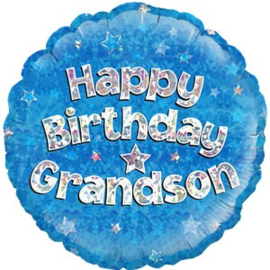 Happy Birthday Granson Foil