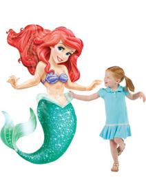 Little Mermaid Airwalker Folie Ballon