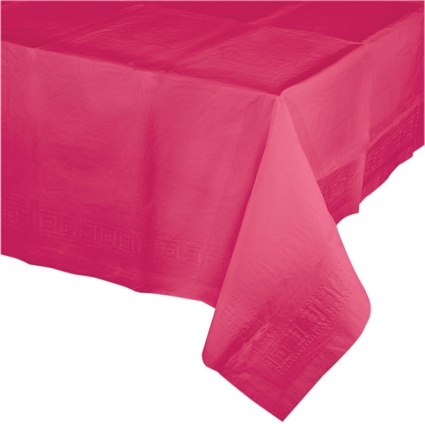 Papieren Tafelkleed Hot Pink