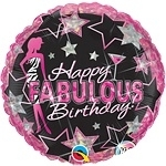 Happy Fabulous Birthday Foil