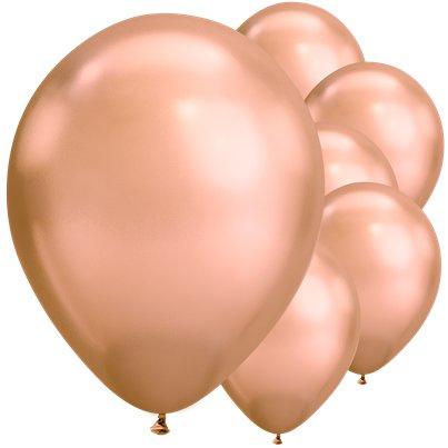 Chrome Ballonnen Rose Goud
