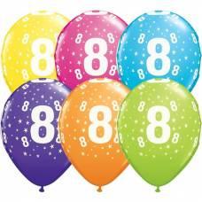 Helium ballon leeftijd 8 jaar
