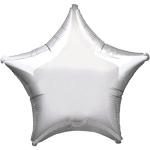 Folieballon ster zilver