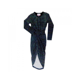 001 LavaLava jurk fireflies black 17-201