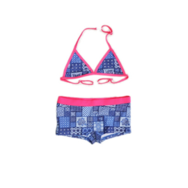 01 JUST BEACH GREAT BARRIER REEF Patchwork Blue