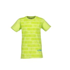 000 Blue Seven shirt geel  602666