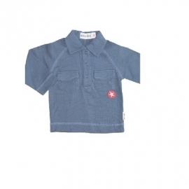 00001 KIK Kid blauwe polo bbj77c maat 62