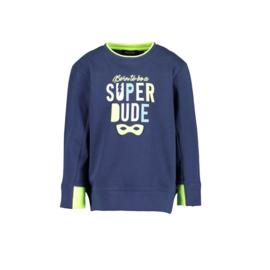 00002 Blue Seven sweater donker blauw 817585