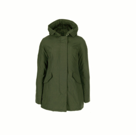 01 Airforce  Dames parka jas green W0051-651