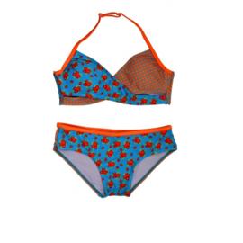 001 ZEE&ZO Bikini Paraiso Milles Fleurs Blue