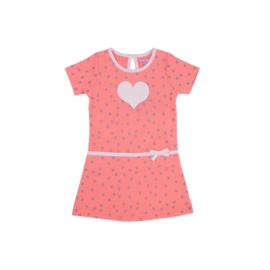 001  LoFff jurk  perzik  B8310-01