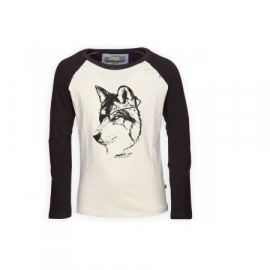 1 Bomba T-shirt Raglan tee /wolf  B15-235