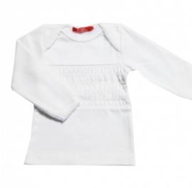 001 Hanssop smock shirt white maat 86/92
