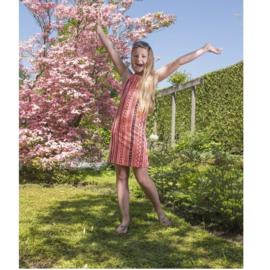 0001 LavaLava jurk coco perzik 19-120