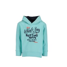 00001 Blue Seven sweater licht blauw 817568