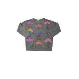12 Simple Kids  Pullover Yamm  grijs maat 152