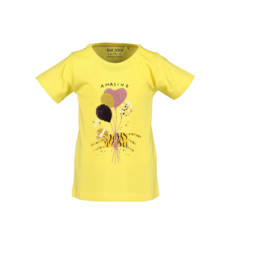 00001 Blue Seven shirt geel 702213